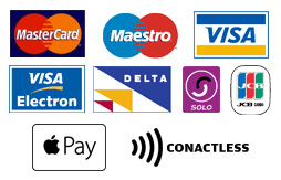 Available payment methods here at St. Michaels Dental Practice